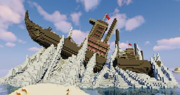 Fire Nation Ship (Avatar) Minecraft Map & Project