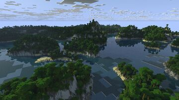 🌍Realistic Archipelago Jungle Islands  [2k, JAVA (Bedrock coming)] Minecraft Map & Project