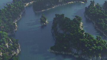 🌍Realistic Archipelago Jungle Islands Minecraft Map & Project