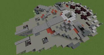 Millennium Falcon | Minecraft 1.12.2 Minecraft Map & Project