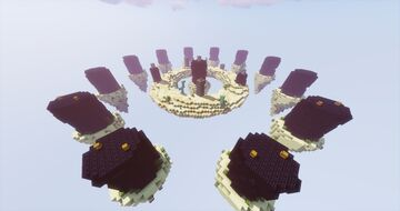 Map SkyWars End Solo - Server Minecraft | StarDix Minecraft Map & Project
