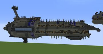 Providence-class dreadnought   Minecraft 1.12.2 [DOWNLOAD] Minecraft Map & Project