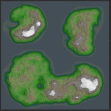 Islands World Painter Minecraft Map & Project
