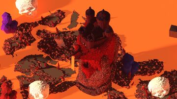 Castle - Of The Crimson King Minecraft Map & Project