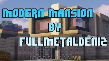 Modern Mansion by FullMetalDeniz Minecraft Map & Project