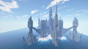 StarGate Ancient Continuous building Minecraft Map & Project