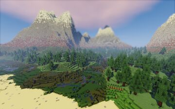 Norv shore Minecraft Map & Project
