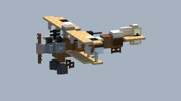 Albatros C.III Biplane [With download] Minecraft Map & Project