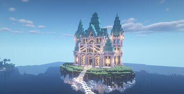 Celestial Temple Minecraft Map & Project