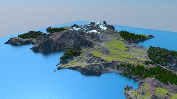 2500x2500 Island Minecraft Map & Project