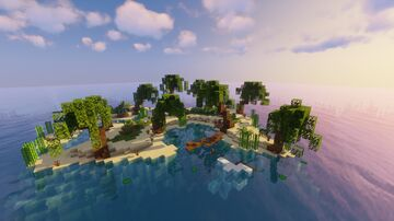 Tropical Survival Island Minecraft Map & Project