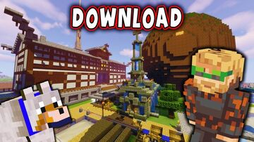 PEWDIEPIE MINECRAFT BASE 16.1 SURVIVAL BASE Minecraft Map & Project