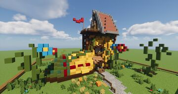 Boot House Minecraft Map & Project