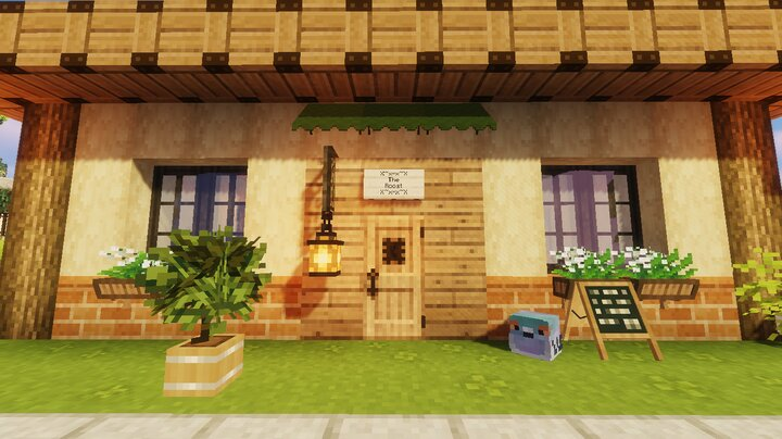 Popular Server Map : The Roost Café (Animal Crossing: New Leaf)