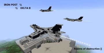 IronPost Delta II [Realms Of Destruction] Updates paused Minecraft Map & Project
