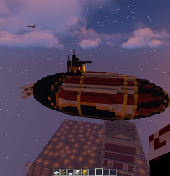 Bioshock Infinite : First Laddy airships Minecraft Map & Project