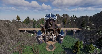 Elven Cathedral Minecraft Map & Project