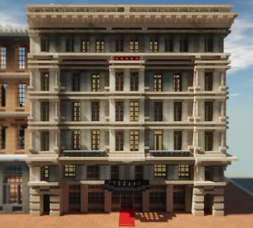 19th-Century Townhouse   Krysot   MFC Minecraft Map & Project