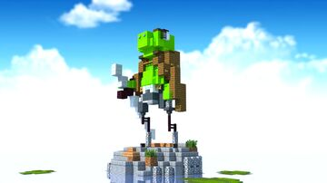 Frog Knight Minecraft Map & Project