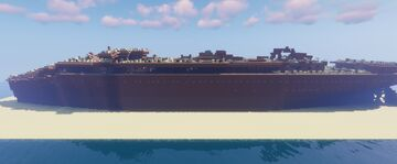 SS Anna die Schnelle Wreck (1950) Minecraft Map & Project