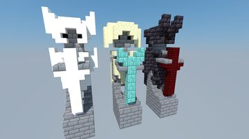 Little Statues Minecraft Map & Project