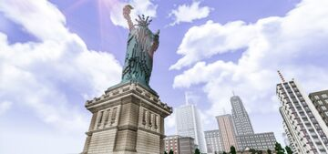Statue Of Liberty for Minecraft Minecraft Map & Project