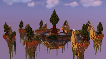 Woodlands | Skywars Map Minecraft Map & Project