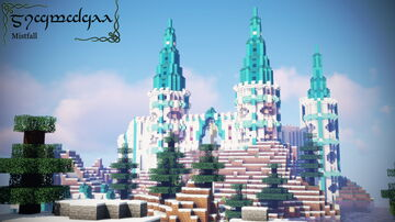 Elven Castle (WIP) Minecraft Map & Project