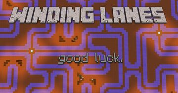 Winding Lanes Minecraft Map & Project