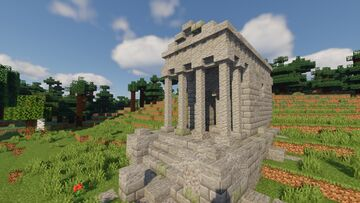 Abandoned Temple Minecraft Map & Project