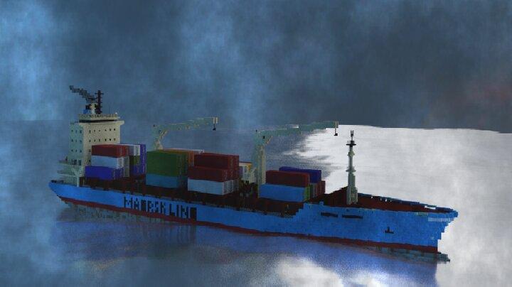 Popular Server Map : Maersk Alabama | 1.2:1 Scale