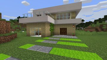 Casa Tropical / Tropical House Minecraft Map & Project