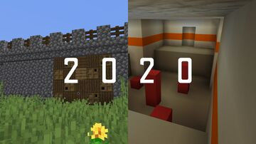 2020 into 2021! Minecraft Map & Project