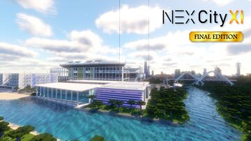 NEXCity XI - The Most Detailed City Map. Ever. Minecraft Map & Project