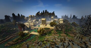 TamrielCraft - Balmora of Morrowind Minecraft Map & Project