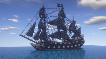 The Black Pearl Minecraft Map & Project