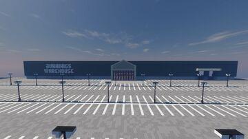 Bunnings Warehouse (Alhutopian Project) Minecraft Map & Project