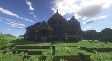 Modern/Victorian House Minecraft Map & Project