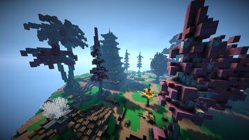 Map Serveur MC (skywars/rush ffa + spawn + command block) Minecraft Map & Project