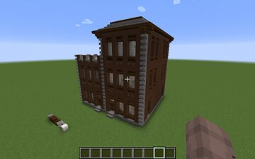 Brown Apartment Building Minecraft Map & Project