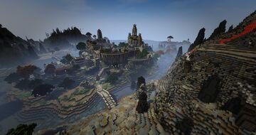 TamrielCraft - Ebonheart of Stonefalls Minecraft Map & Project