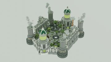 Nuclear - Uranium | Spawn PVP / Faction Minecraft Map & Project
