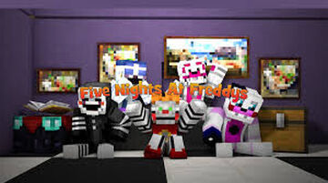 Fnaf1 FanMade Map Made By Devil Ninja Minecraft Map & Project