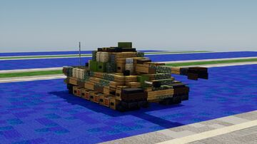 "Pz. Kpfw. Tiger II ""Königstiger"" Minecraft Map & Project"