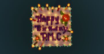 PMC 10 Year Celebration Cake House Minecraft Map & Project