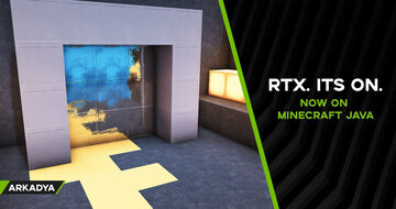 RTX Showcase Room for Java Minecraft Map & Project
