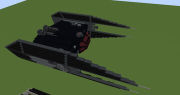 TIE Silencer | Minecraft 1.12.2 Minecraft Map & Project