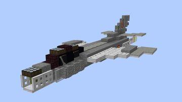 MiG-19 Farmer - 1.5:1 Minecraft Map & Project