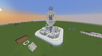Future city core thing idk Minecraft Map & Project