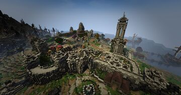 TamrielCraft - Davon's Watch of Stonefalls Minecraft Map & Project
